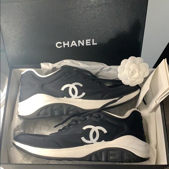 Chanel Shoes Sneaker Trainer Poshmark